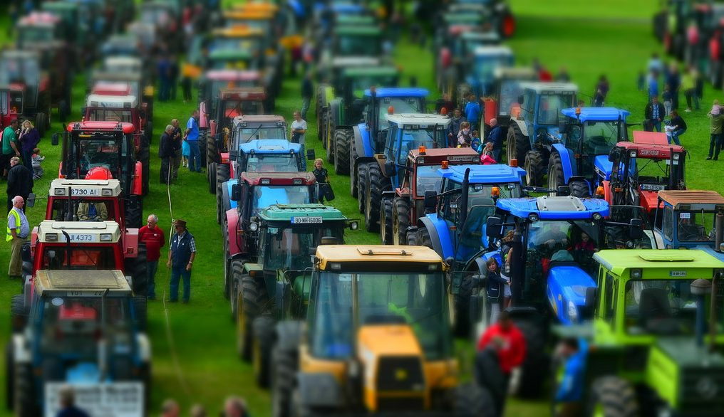 Vertrieb von Agrartechnik