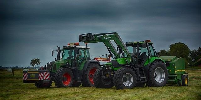 moderne Landtechnik