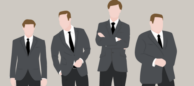 Business-Anzug