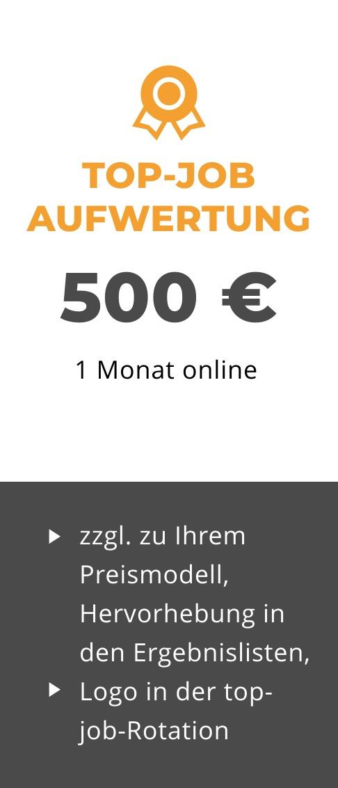 Preis-Top-Job
