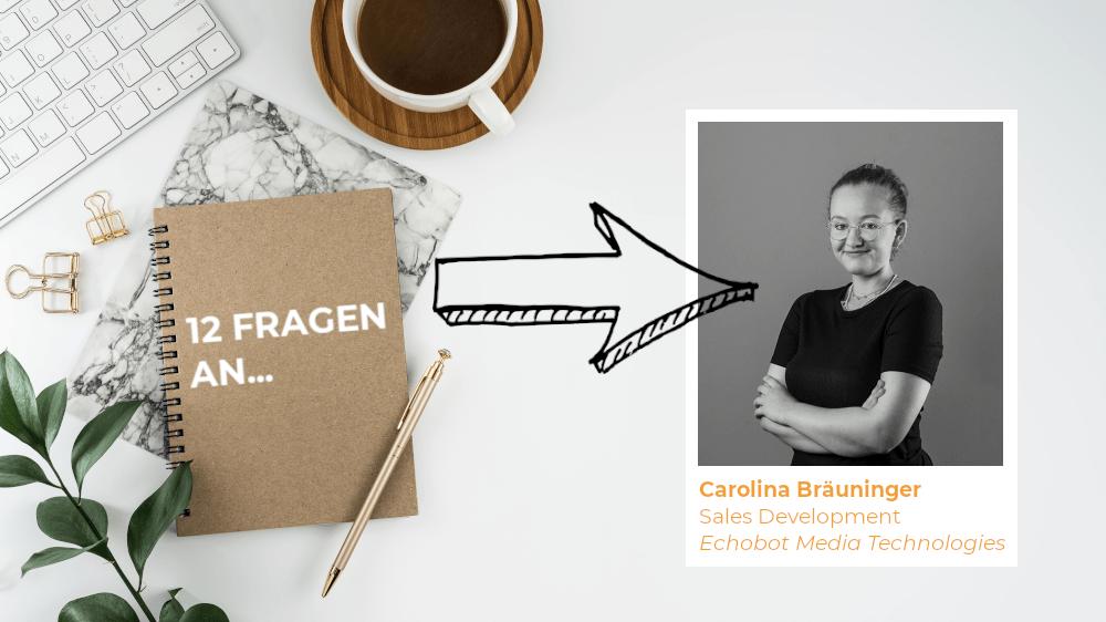 Das Titelbild zum Interview mit Carolina Bräuninger, eine Frau mit Biss.