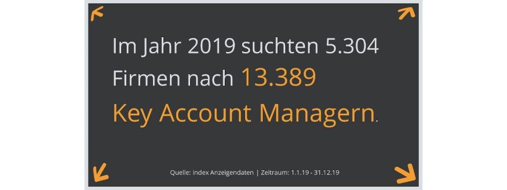 infografik stellenanzeigen key account manager