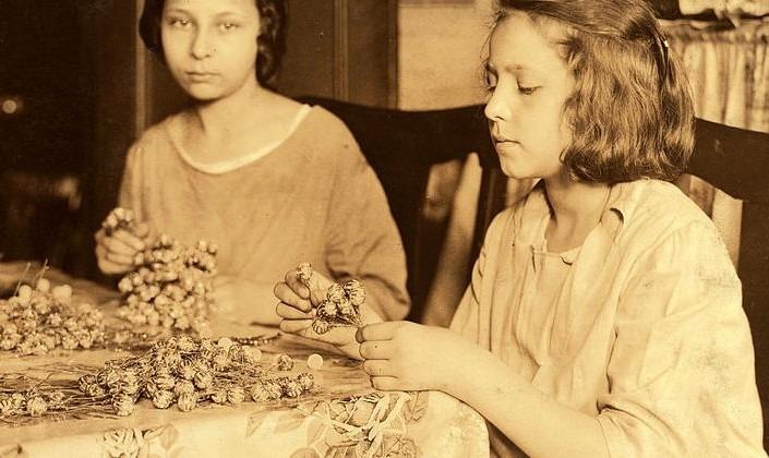 Heimarbeit 1924