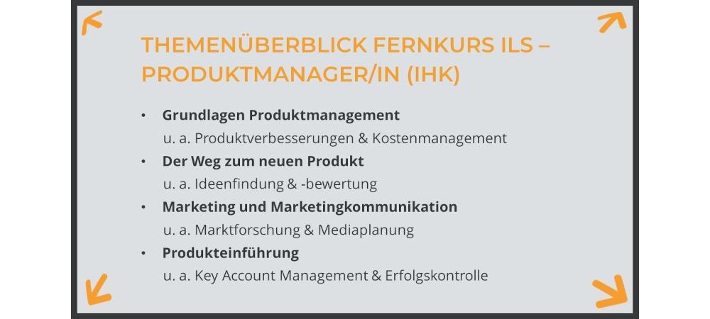 IHK Fernkurs Produktmanager