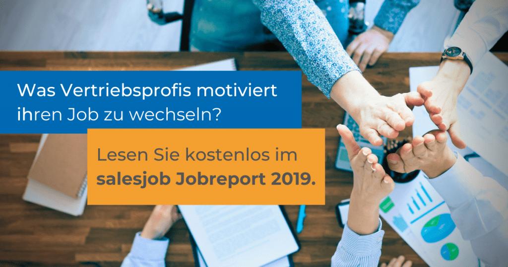 Teaser_salesjob Jobreport 2019